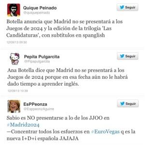 Madrid 2024 Twitter