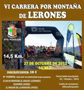 Carrera Lerones