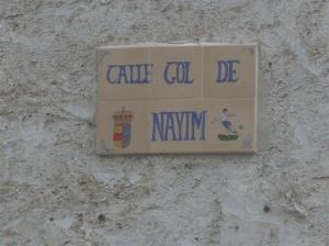 Calle Gol de Nayim