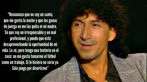 Cita de Mágico González