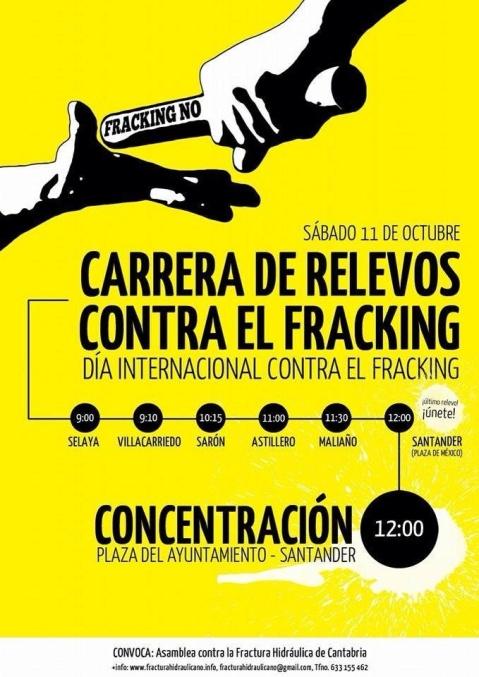 Fuente: Asamblea contra la Fractura Hidráulica en Cantabria